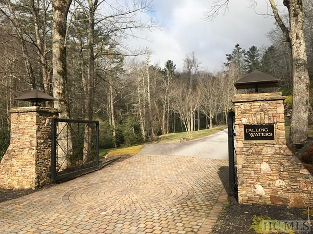 Lot C1 Falling Water Drive Highlands NC - Falling Waters Entrance